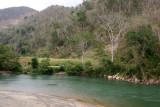 Rio Cahabon en el Limite entre Alta Verapaz e Izabal