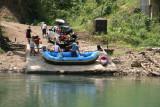 El Rio Cahabon es Buscado por los Amantes del Rafting