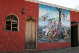 Mural en una de las Calles