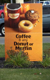 COFFEE & DONUT OR MUFFIN