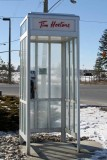TIMS OWN PHONE BOOTH?