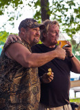 Larry the Cable Guy and Dan Huntley