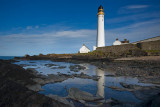 Scurdie Ness Lighthouse.