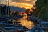 Harbor Sunset, Grand Bend, Ontario