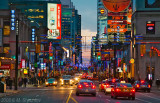 Yonge Street  - Christmas Illumination