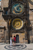 Astronomical Clock and Tourists