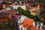 Rooftops View From Vysegrad, Prague