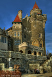 Casa Loma. East Tower from Park