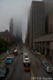 Queen Street in a Fog
