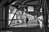 Skywalk , Toronto BW