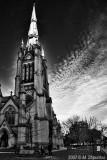 St James Church , Toronto BW