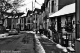 Downtown Streets , Toronto BW
