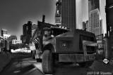 Bay Street Constructions , Toronto BW