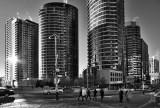 People Live Here , Toronto BW