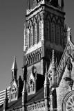 St Michaels Catholic Cathedral , Toronto BW