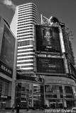 Eaton Centre Entrance , Toronto BW