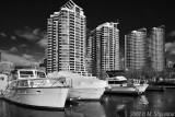Boat Houses , Toronto BW