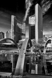Toronto's City Hall , Toronto BW