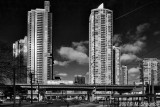 Two Towers , Toronto BW