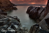Sunrise over Porthmadog