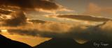Low cloud sunset