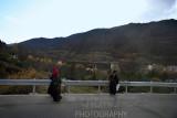 Tibetans hiking
