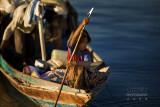 Sea gypsy girl, Mabul (Malaysia)