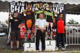 Novice division winners