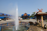 Hot Spring at the Khun Chae National Park