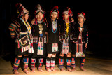 Akha hill tribe dance
