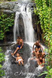 Children enjoying the waterfalls, Bedulu village _MG_2903.jpg
