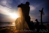Fisherman at dusk, Jimbaran village _MG_3855.jpg