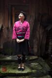 Yao ethnic minority lady.
