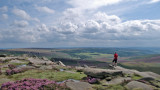 Clouds over Burbage Valley
