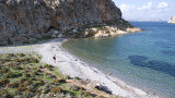 Secrete beach and clear sea