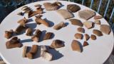 Kasteli pottery close-up