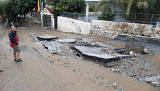 Road to nowhere - flood damage