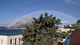 Big rainbow and Telendos