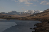 Snowdon peaks from the east
