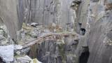 Slate quarry tunnels
