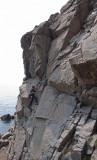 CC climbing Diedren, Kullaberg