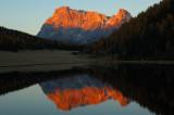 Cimon de la Pala su lago Calaita - Trentino