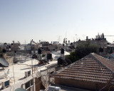 Modern Rooftops From Atop the Old Wall