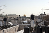 Over the Rooftops to the Dome of the Rock