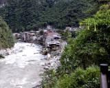 Urubamba River at Aguas Calientes