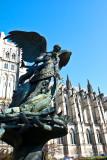 Peace Fountain - the Archangel Michael