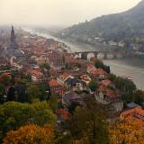 bridge over the Neckar river at Heidelberg