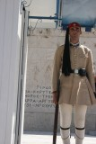 Guard at the Tomb of the Unknown Soldier, Athens