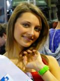 Miss Slovenia @ Ducati's Stand