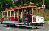 Powell - Hyde  Cable Car, let's go-go-go!!